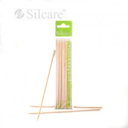 Orange wood stick long PT0100